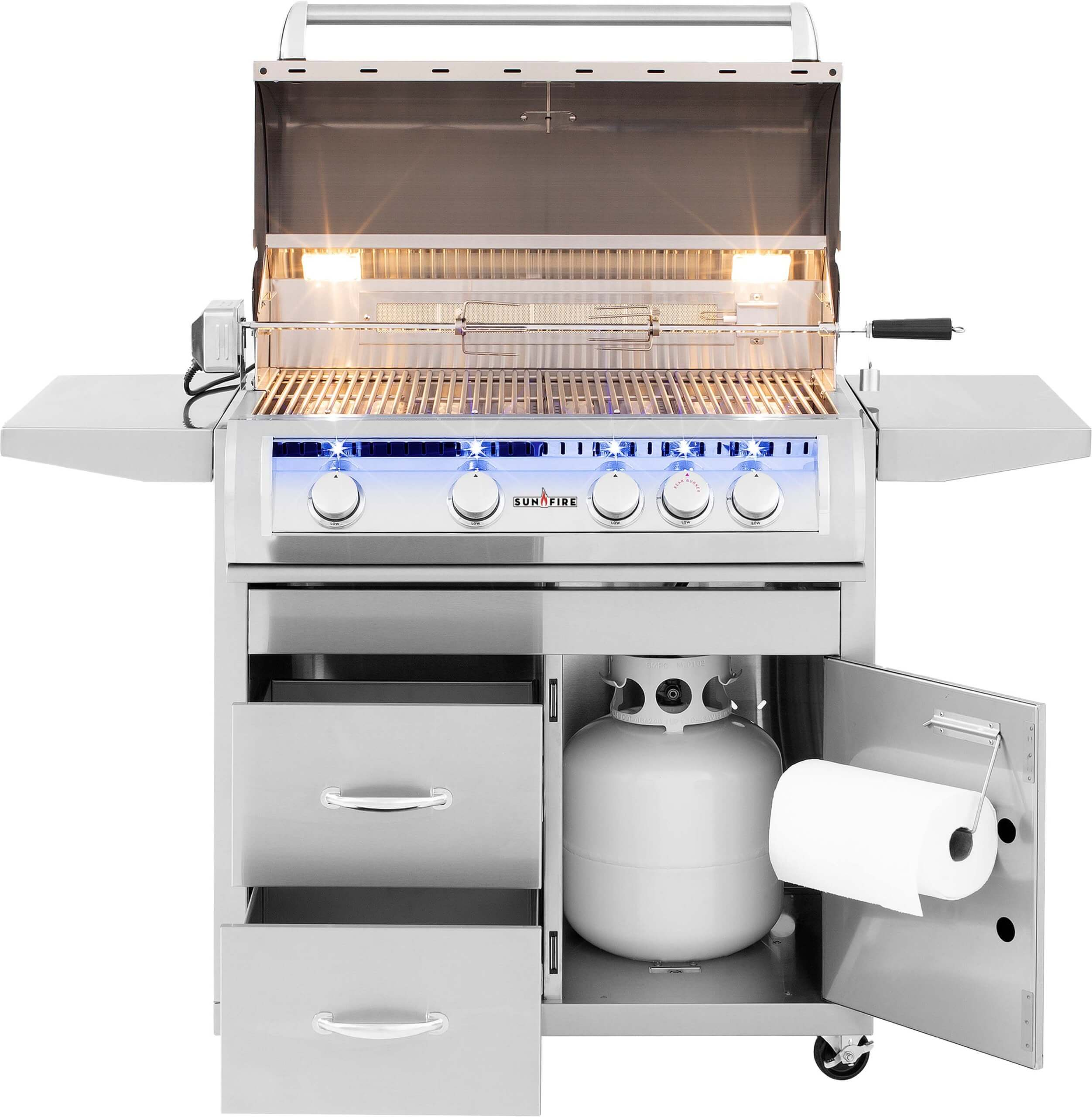 32-stainless-steel-bbq-grill-cart