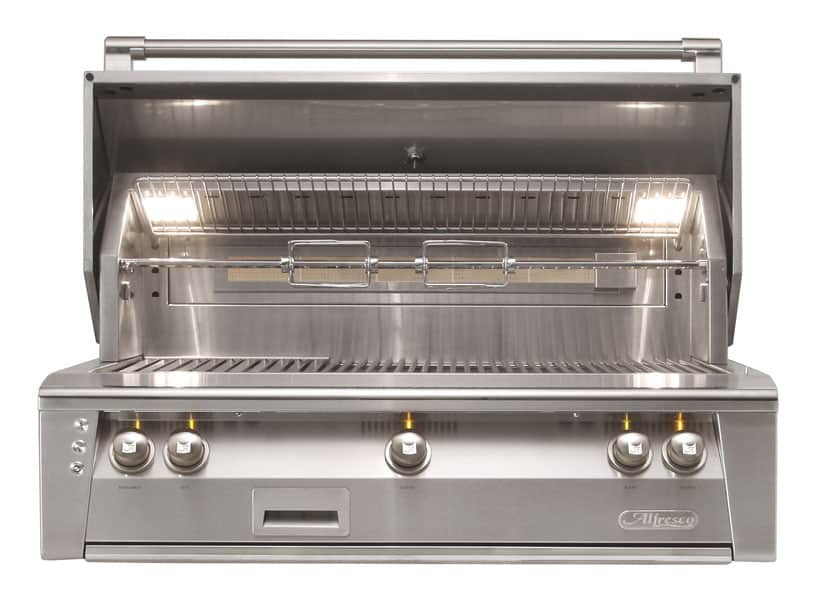 Alfresco-42-Inch-built-in-outdoor-stainless-steel-grill