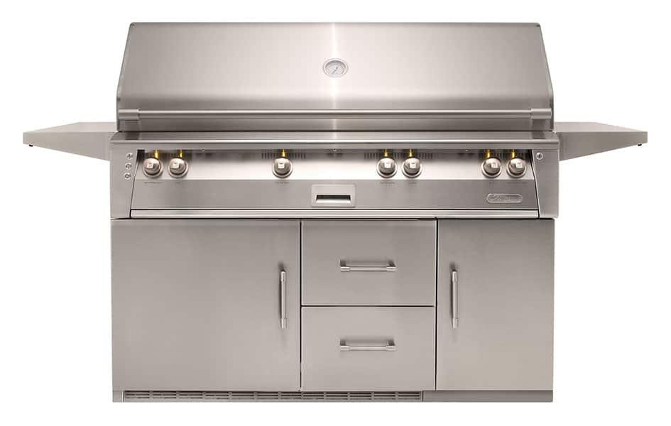 Alfresco-56-bfg-Inch-freestanding-gas-grill-cart-temp-control