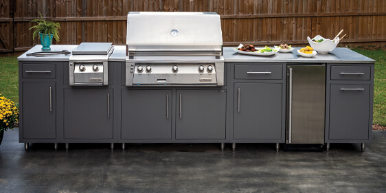 Aluminum Outdoor Kitchen Cabinets,Rooftop Kitchen,Powder Coated