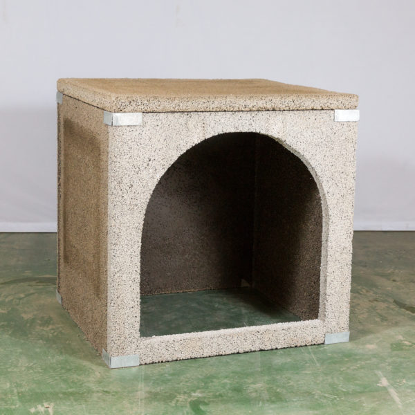 outdoor fireplace kit wood storage box