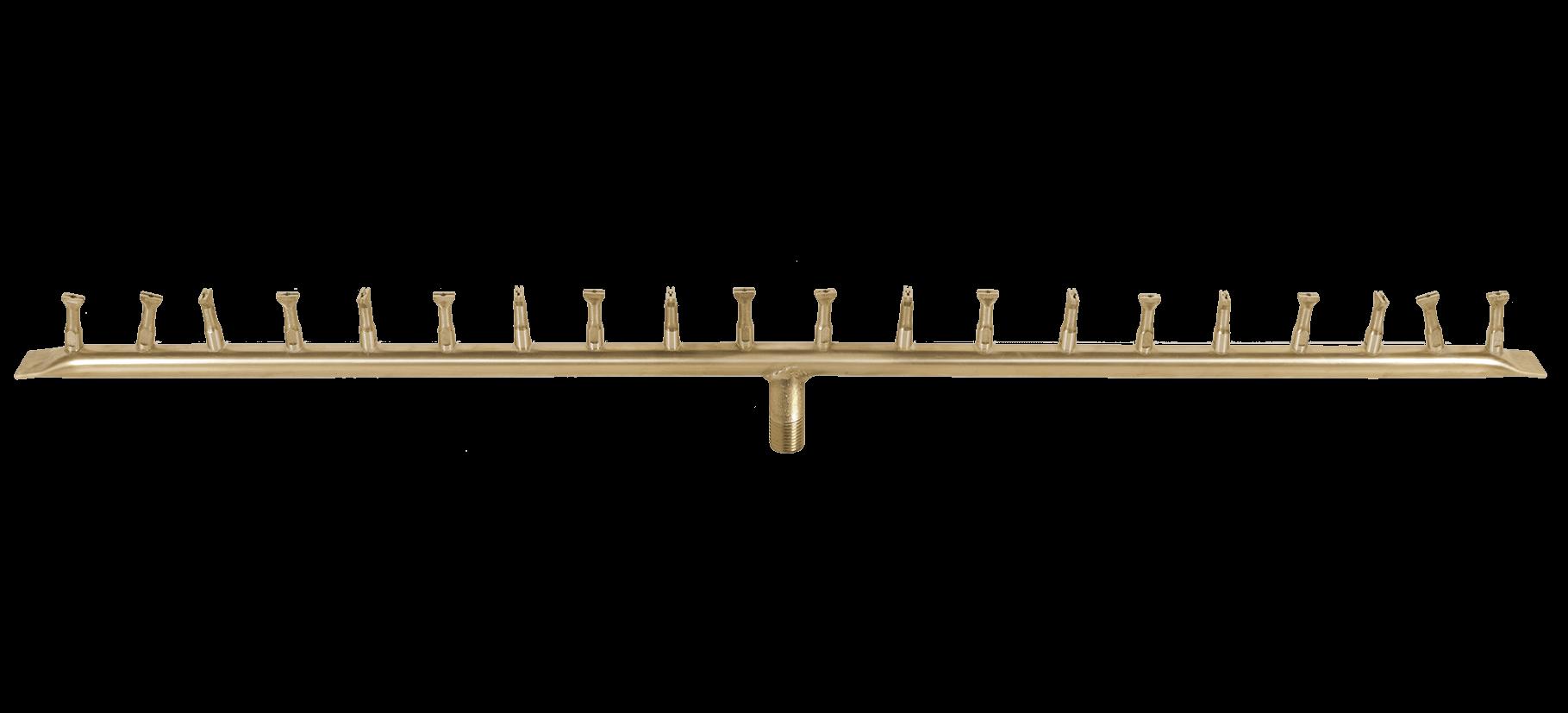 Linear-bullet-burner-brass-gas-fire-pit-kit-inserts