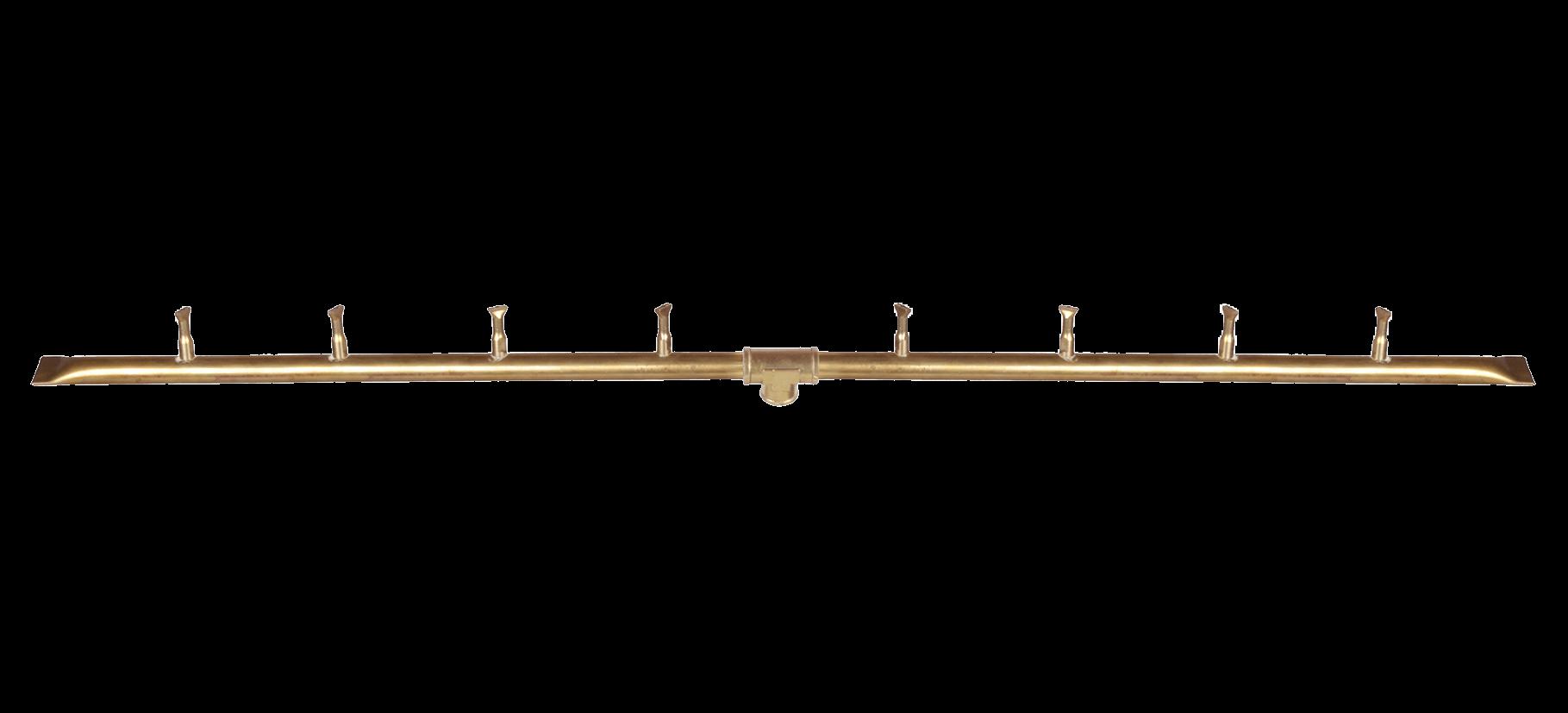 straight gas burner kit brass bullet