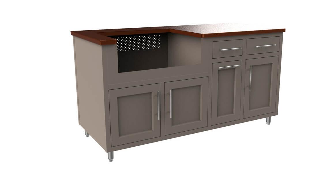 Outdoor-Aluminum-Kitchen-Cabinet-Custom-Layout-67.25-GWDD