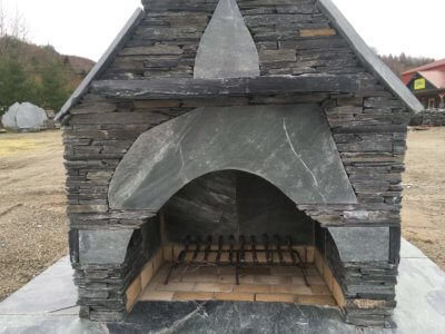 outdoor fireplace kit, outdoor fireplace, masonry fireplace