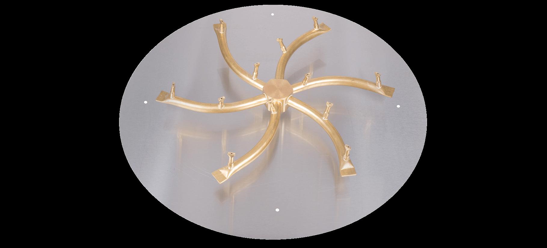 Flat plate for Star/Triple S Burner kit