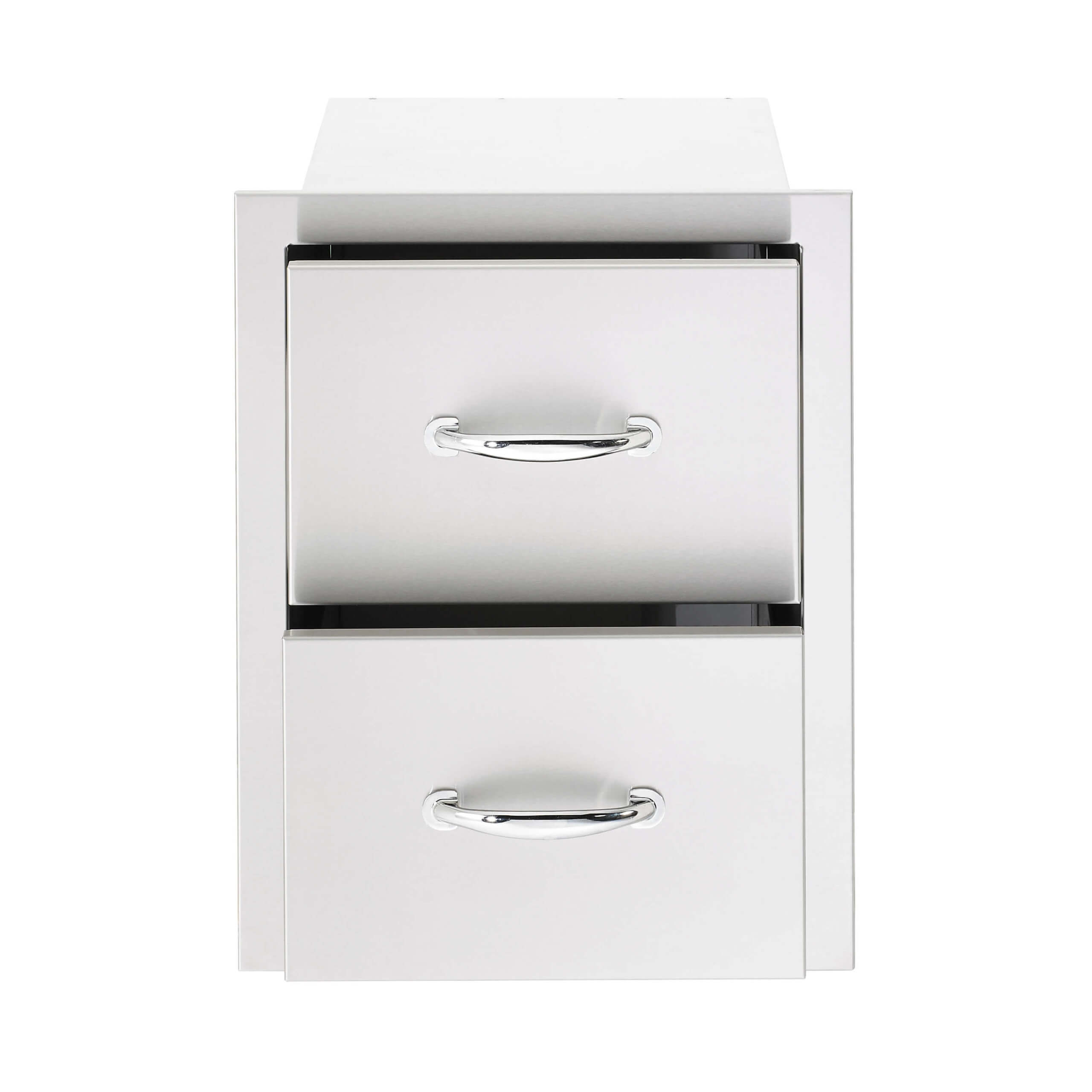 SSDR-double-drawer-sunfire-summerset-outdoor-kitchen-accessories