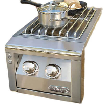 Stainless Steel Double Side Burner