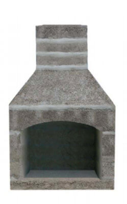 outdoor fireplace kit, masonry fireplace kit