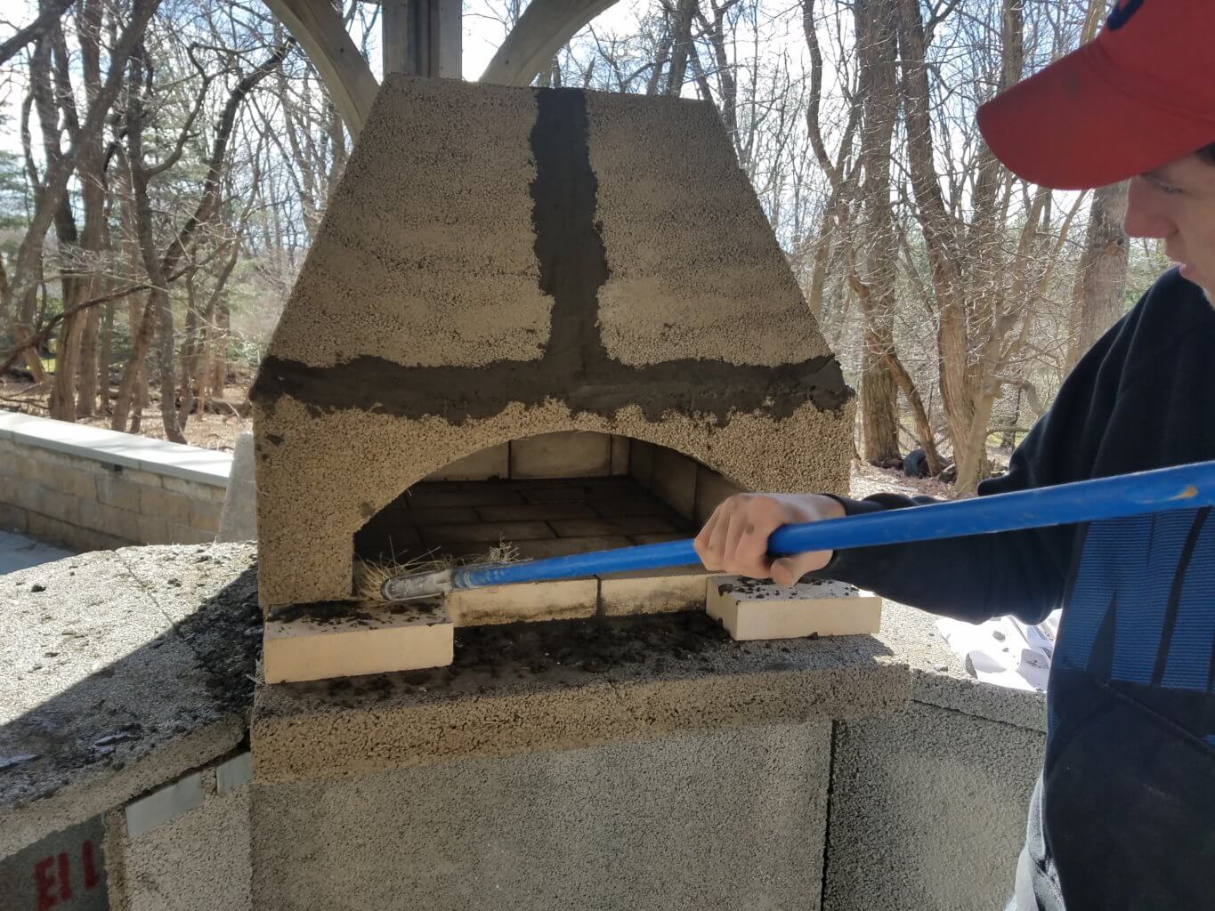 Outdoor pizza oven kit, installation in ct (Connecticut), outdoor living