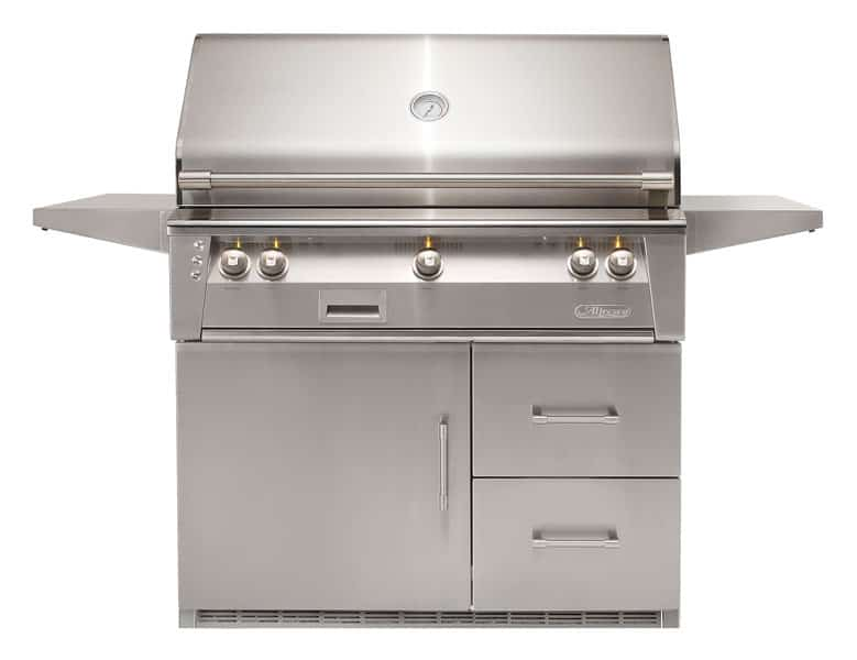 alfresco-42-inch-gas-grill-freestanding-cart-refrigerated-temp-control