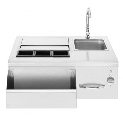 outdoor kitchen, stainless steel outdoor kitchen accessory