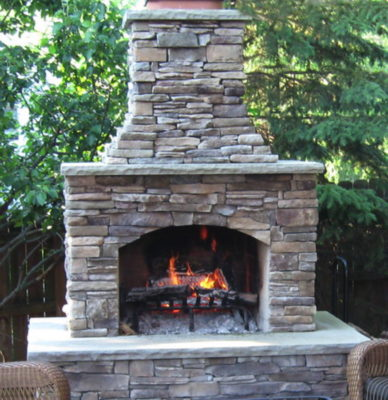 outdoor fireplace kit, outdoor fireplace kit ct., outdoor fireplace kit Connecticut