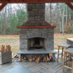 outdoor fireplace kit, outdoor fireplace ct, outdoor fireplace Connecticut, outdoor fire feature, outdoor living