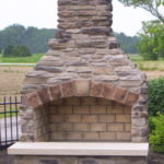 outdoor fireplace kit, outdoor fireplace, outdoor fire feature, outdoor living