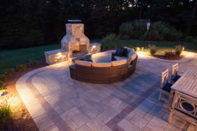 outdoor fireplace kit, outdoor fireplace, outdoor living