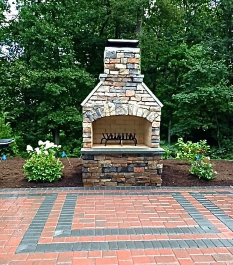 Outdoor Kitchen Kits Lowes: Outdoor Fireplace Kits