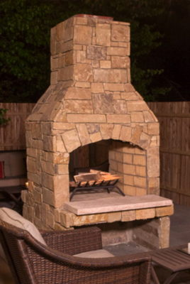 outdoor fireplace kit, outdoor fireplace kit ct, outdoor fireplace kit Connecticut