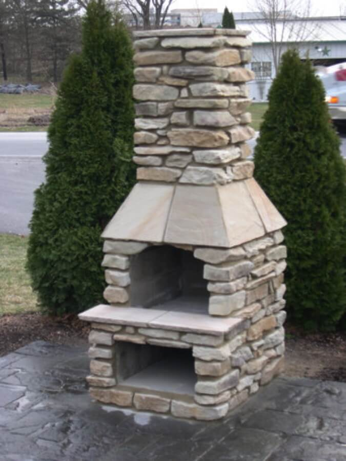 patio outdoor outside kits town fireplaces landscaping available products fire rock at fireplace