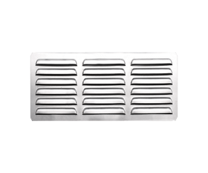 304 Stainless Steel Masonry Outdoor Kitchen Vent with Flange