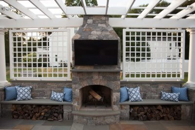 outdoor fireplace kit, outdoor fireplace kit ct, outdoor fireplace kit Connecticut, outdoor fireplace, outdoor fire feature