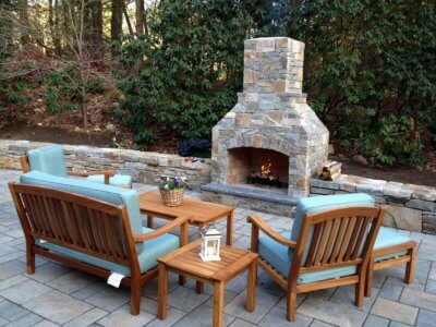 outdoor fireplace kit ct, outdoor fireplace connecticut, outdoor fireplace kit, outdoor fire feature, masonry fireplace kit