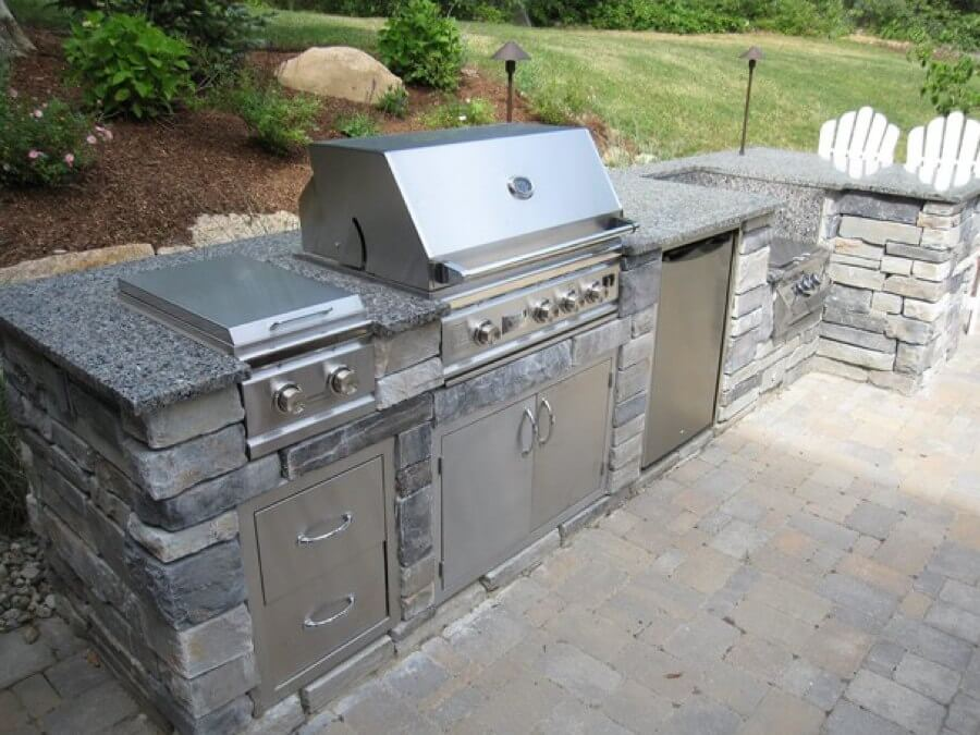 Outdoor Kitchen, Modular Outdoor Kitchen Cabinets, Summerset Grill,  Building An Outdoor Kitchen