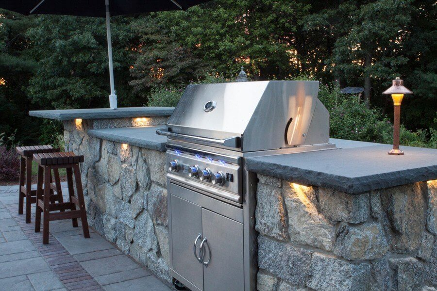 Outdoor Modular Kitchen Cabinet Systems For An Outdoor