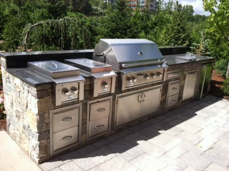 Outdoor Modular Kitchen Cabinet Systems