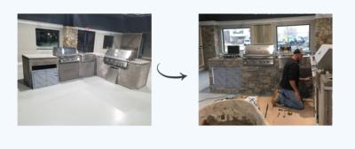 outdoor modular kitchen, outdoor kitchen, outdoor modular kitchen cabinets
