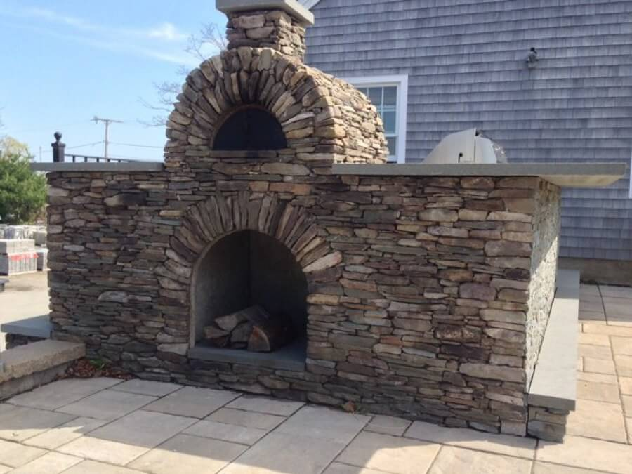outdoor pizza oven kit, outdoor pizza oven, outdoor fire feature, outdoor living