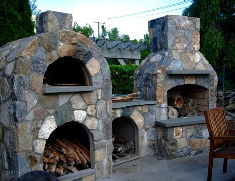Outdoor Pizza Oven Kit Fireplace