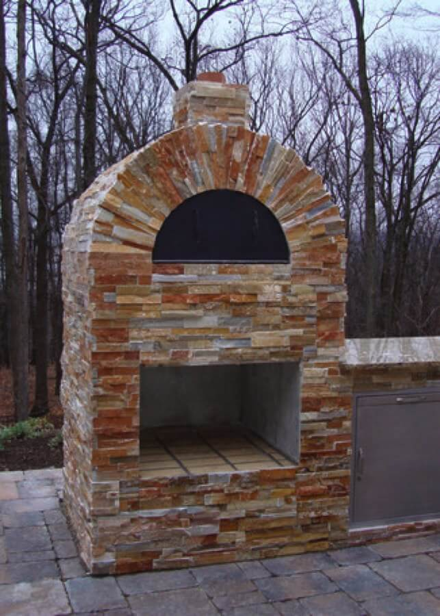 Outdoor Pizza Oven Kits Installation Of An Outdoor Pizza