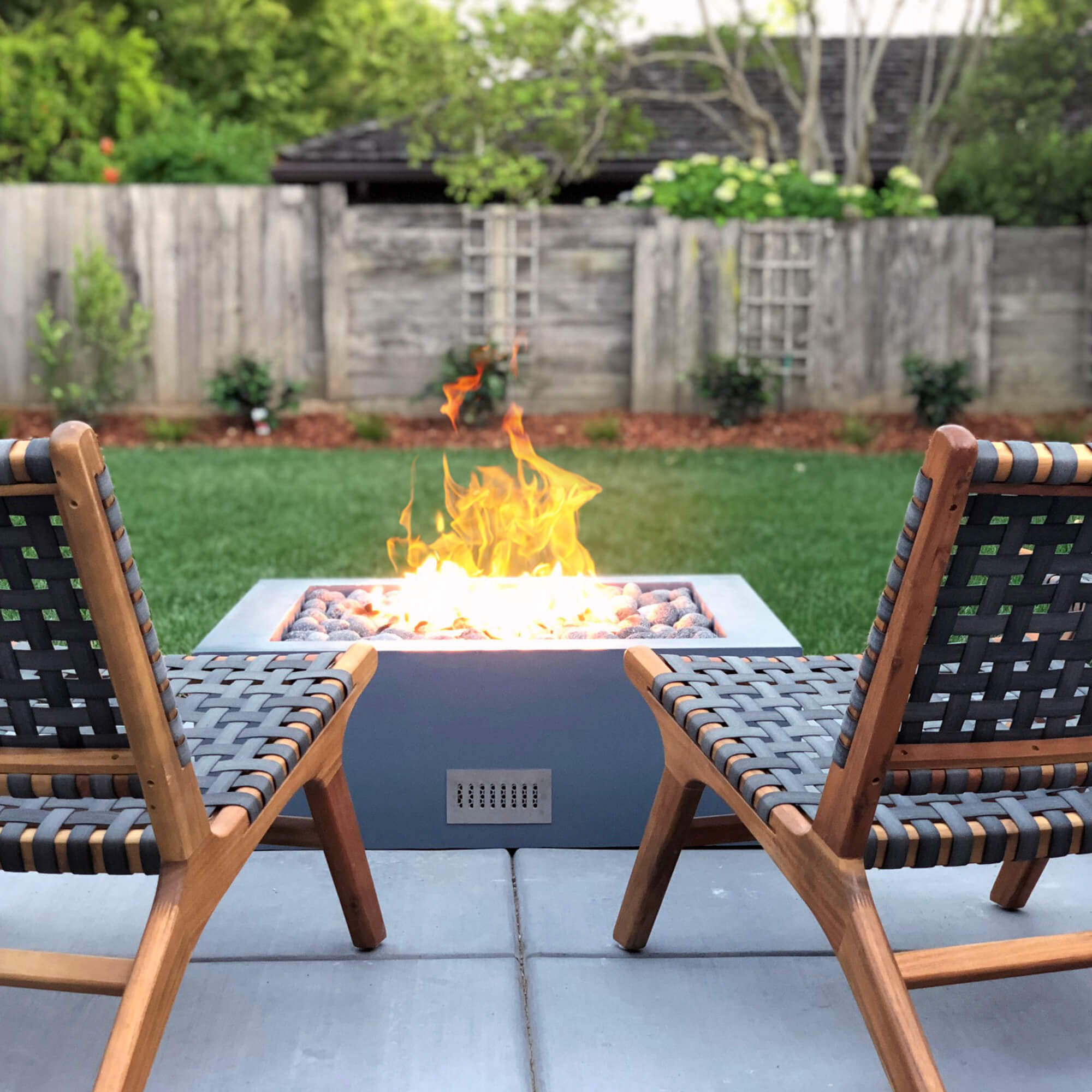 Finished Fire Pits for backyards