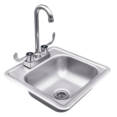 stainless steel outdoor kitchen accessory, outdoor sink