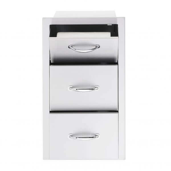 towel-drawer-combo-open-sstdc-sunfire-outdoor-custom-kitchen-accessories