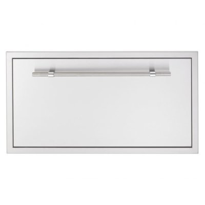 "36"" stainless steel fuel storage drawer masonry"