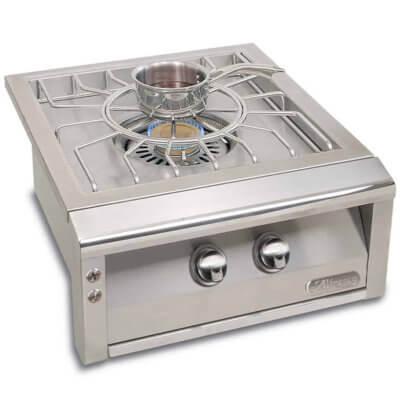 "Alfresco 24"" stainless steel versa power burner"